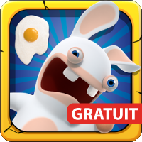 Les Lapins Crétins Appisodes tablette ipad android kindle