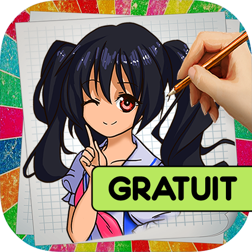 Comment dessiner des Mangas tablette ipad android kindle